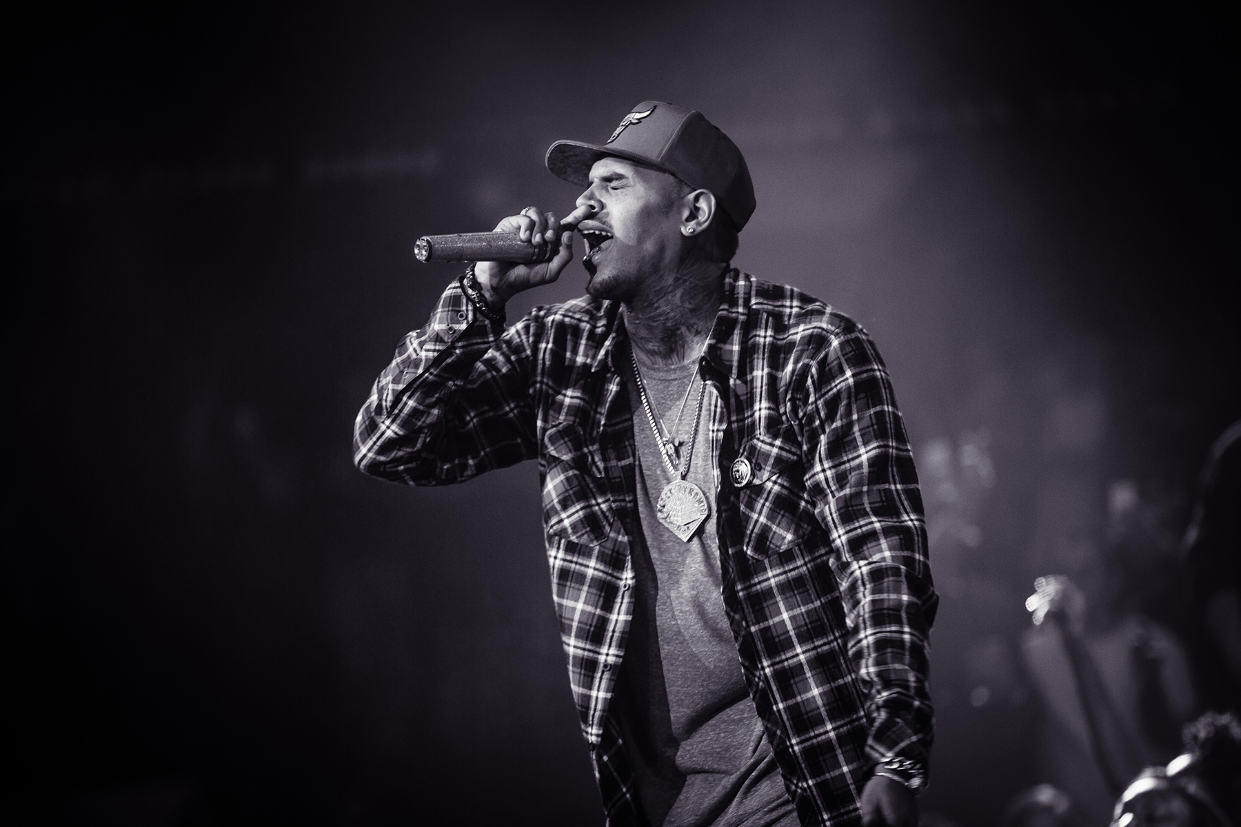 Chris Brown live at Drai's